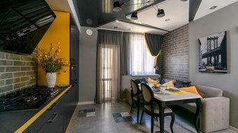 Интерьер 3х-комнатной квартиры