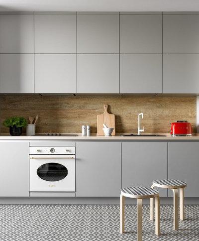Современный Кухня by Точка дизайна