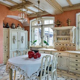 Новый формат декора квартиры: кухня в стиле шебби-шик с искусственно-состаренными фасадами