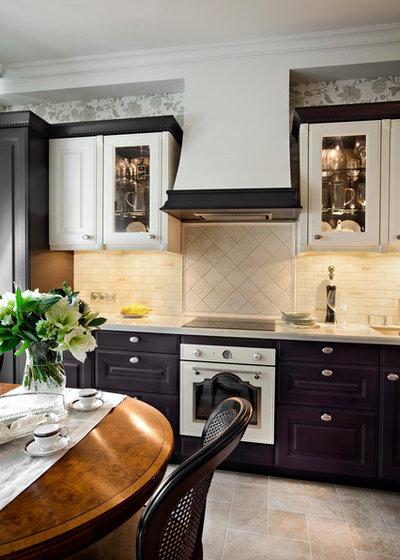 Классический Кухня by Архитектурная студия «BAZHENOV Art-studio»