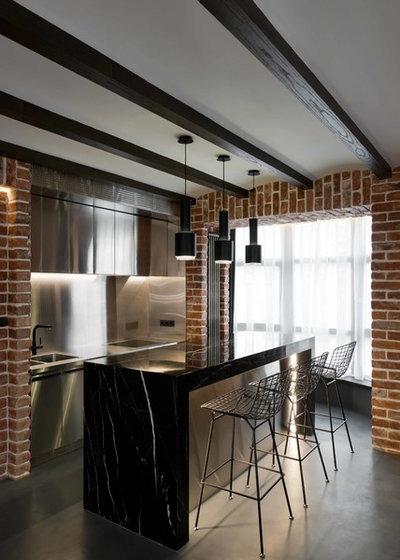Лофт Кухня by Architectural bureau MODUL