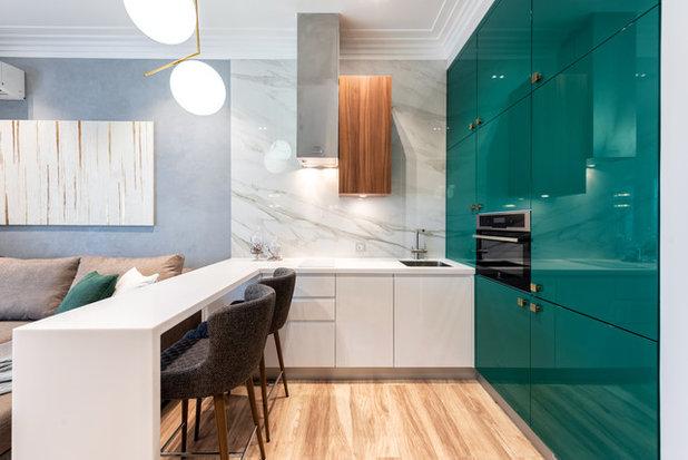 コンテンポラリー キッチン by VSREDE interior design