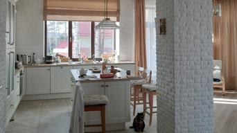 Коттедж в стиле классика шале, коттедж в скандинавском стиле, современныйстиль