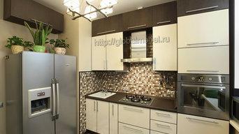 Кухня BC271 с фасадами из пластика Arpa