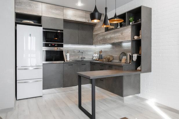 Лофт Кухня by GVARNERI мебель