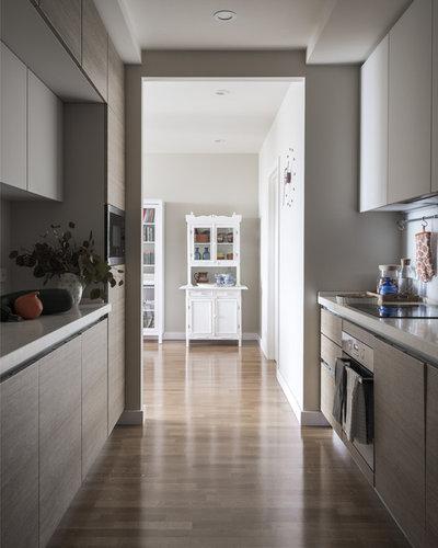 Скандинавский Кухня by MO interior design