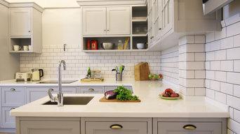 Кухня Шейкер Grey Shaker Kitchen