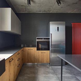 Кухня Solid Loft у Loft інтер'єрі
