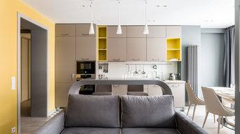 Кухня совмещенная с гостиной
