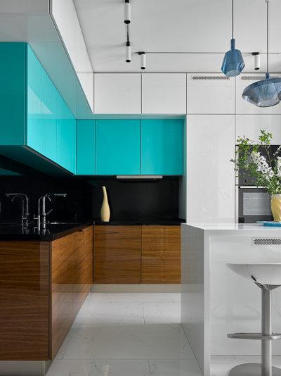 Современный Кухня by Студия дизайна Жанны Бадальян