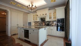 Кухня в городской квартире