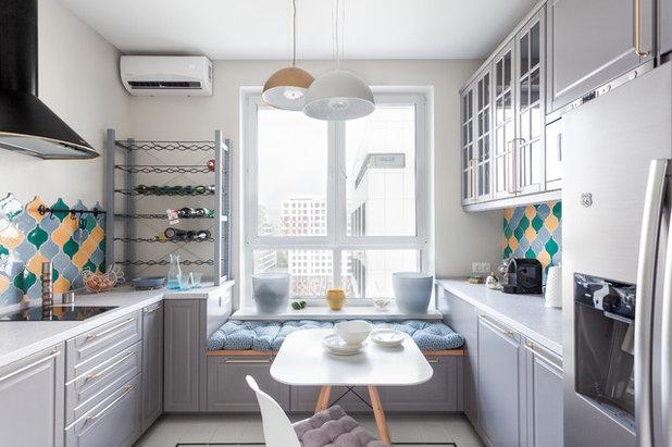 Transitional Kitchen by Prima Keramika