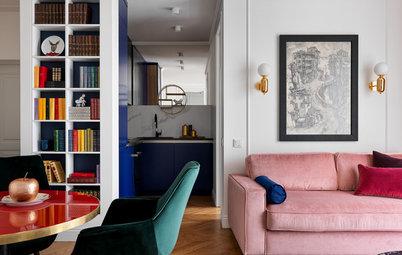 Houzz тур: Квартира для жизни между Лондоном и Москвой
