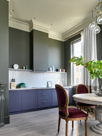 Неоклассика Кухня by Ariana Ahmad Interior Design