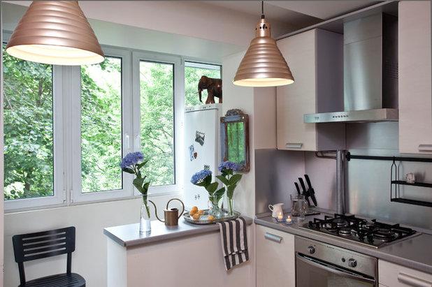 Дизайн совмещенная кухня с лоджией