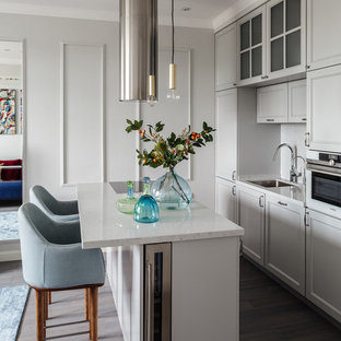 75 Beautiful Small White Kitchen Pictures Ideas January 2021 Houzz