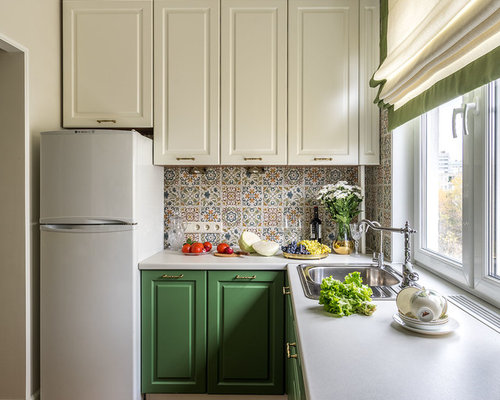 Kitchen with Green Cabinets Design Ideas & Remodel Pictures | Houzz