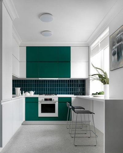 Современный Кухня by «Точка дизайна»