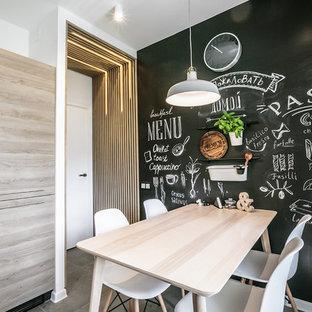 Пример оригинального дизайна: маленькая кухня в скандинавском стиле