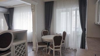 Квартира: кухня-гостиная, две спальни