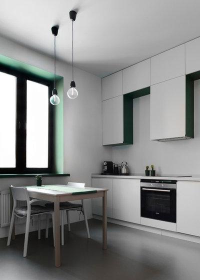 Современный Кухня by Схема