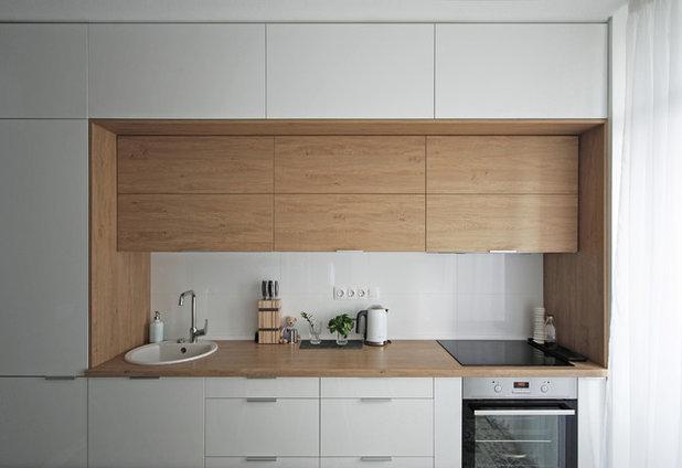Современный Кухня by K BAND