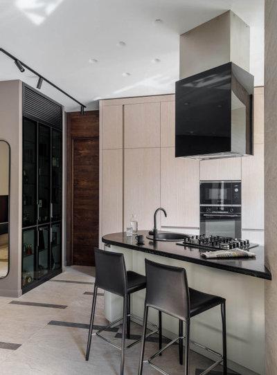 Современный Кухня by ST-buro Студия дизайна интерьера
