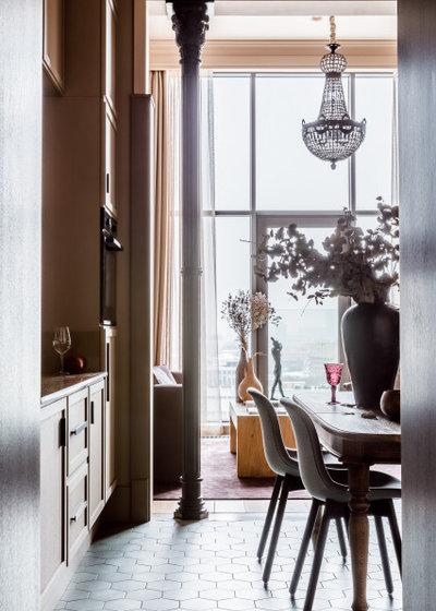 Фьюжн Кухня by OLGA IEVLEVA Interior design & decoration