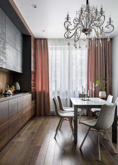Современный Кухня by Архитектурная студия АВТОР