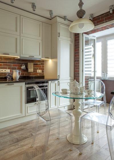 Современный Кухня by Архитектурная мастерская AXIS