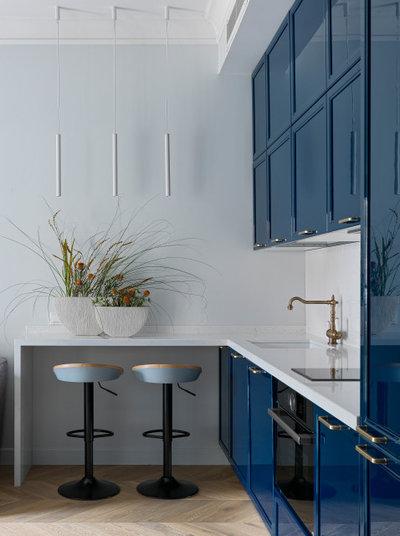 Современный Кухня by Makava Interiors