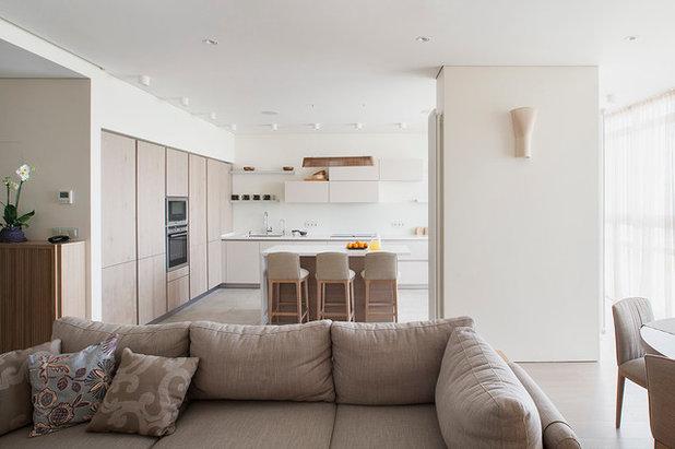 コンテンポラリー キッチン by Ariana Ahmad Interior Design