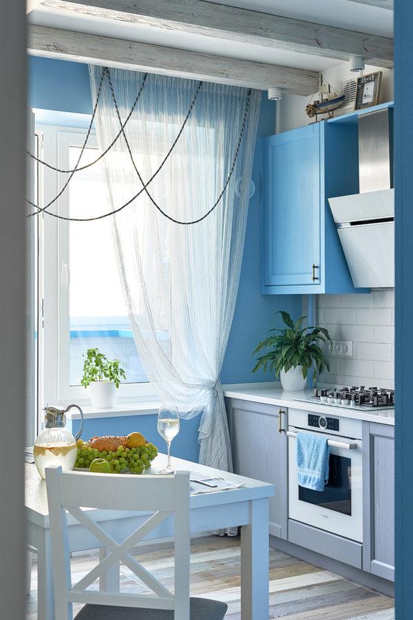Квартира с видом на Средиземное море