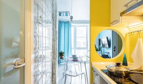 Просто фото: Кухни с внутренним окном