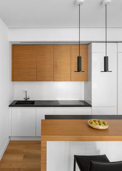Современный Кухня by m2project