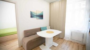 Квартира в скандинавском стиле 46 м2