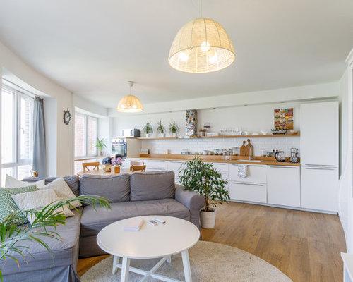 кухня-гостиная в скандинавском стиле фото это творческое