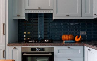 Как правильно: Установить кухню, если мешает газовая труба
