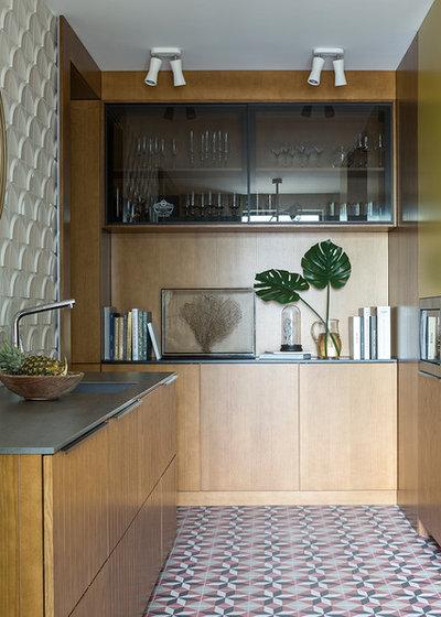 Современный Кухня by Make Interiors