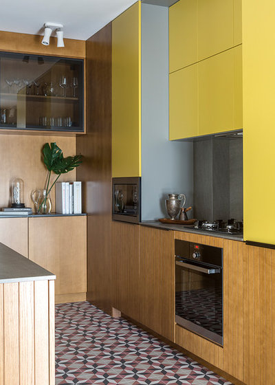 Eclectic Kitchen by Make Interiors