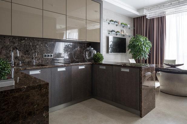 Современный Кухня by Архитектурное бюро LOFTING