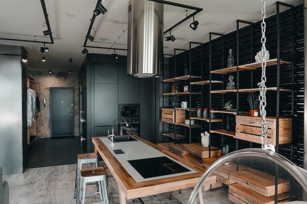 Лофт Кухня by Shvetsov.Design