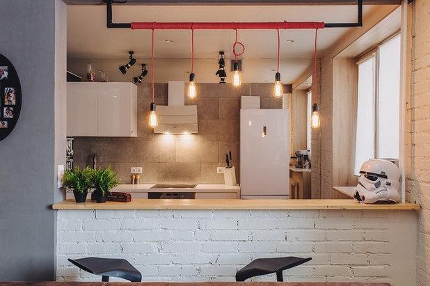 """Industrial Kitchen by Дизайн студия Антона Сухарева """"Sukharevdesign"""""""