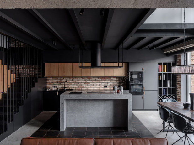 Лофт Кухня by Architectural Studio RE