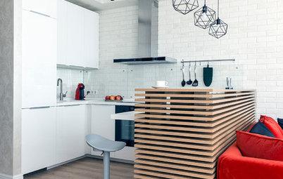 Фотоохота: Как обыграть торец кухни в кухне-гостиной