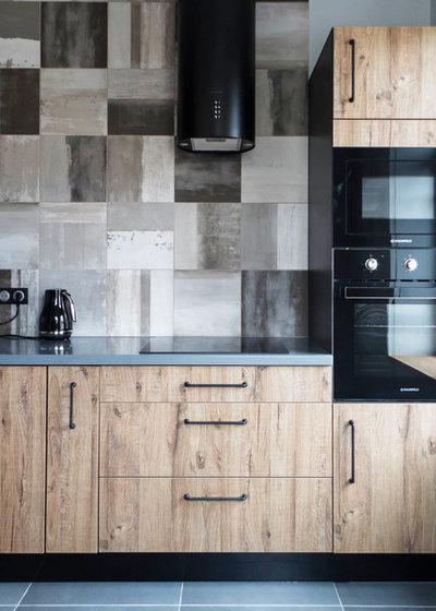 Лофт Кухня by DesignCornerSPB