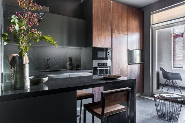 Современный Кухня by Архитектурное бюро Картун