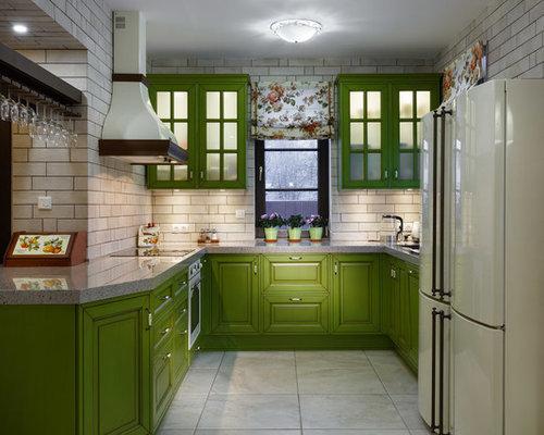 Farmhouse U Shaped Kitchen Design Ideas Amp Remodel Pictures