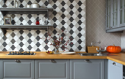 Patterned Tiles Bring Oomph to the Kitchen