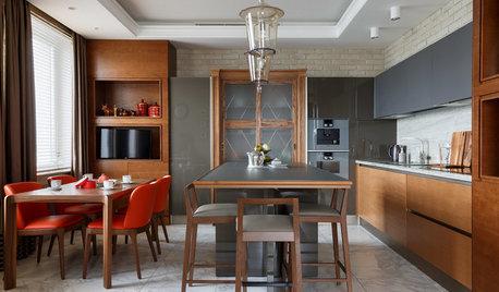 Есть решение: 9 проектов кухни-гостиной 20 кв.м